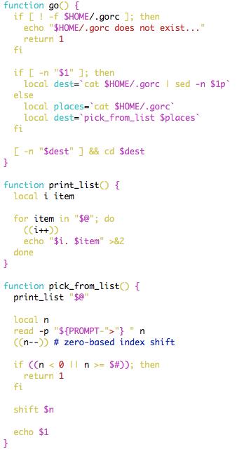 go source code